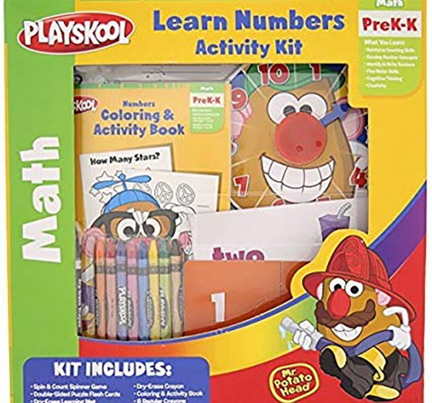 Playskool Learning Numbers  Activity Kit-Multicolor School Stationery for Kids age 3Y+