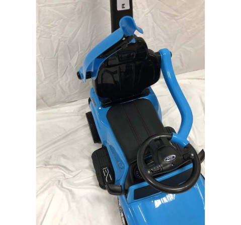 Dk Pedal Car Canopy - Blue Battery Operated Rideons for Kids age 3Y+