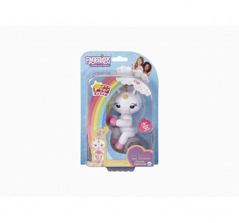 Fingerlings Baby Unicorn Gigi Robotics for Kids age 4Y+ (White)