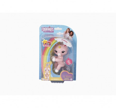 Fingerlings Baby Unicorn Gemma Robotics for Kids age 4Y+ (Pink)