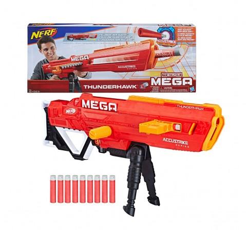 Nerf Thunderhawk Nerf Accustrike Mega Toy Blaster - Longest Nerf Blaster - age 6Y+