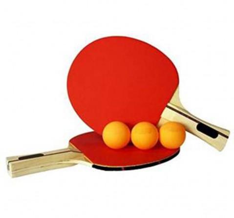 Superk Tt Racket Set 2 Rckts 3 Balls, 3Y+ (Red)