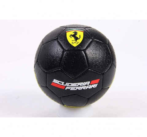 Ferrari Soccer Ball Tyre Thread Size 5, Sports & Accessories for Kids age 5Y+ (Black)