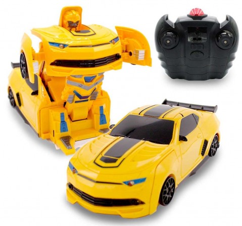 Mz Wall Climbing Black Transforming Robot Remote Control Toys for Kids age 8Y+