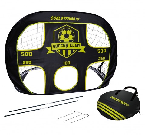 Hostfull 2-In-1 Pop-Up Goal With Target Outdoor Sports for Kids age 5Y+
