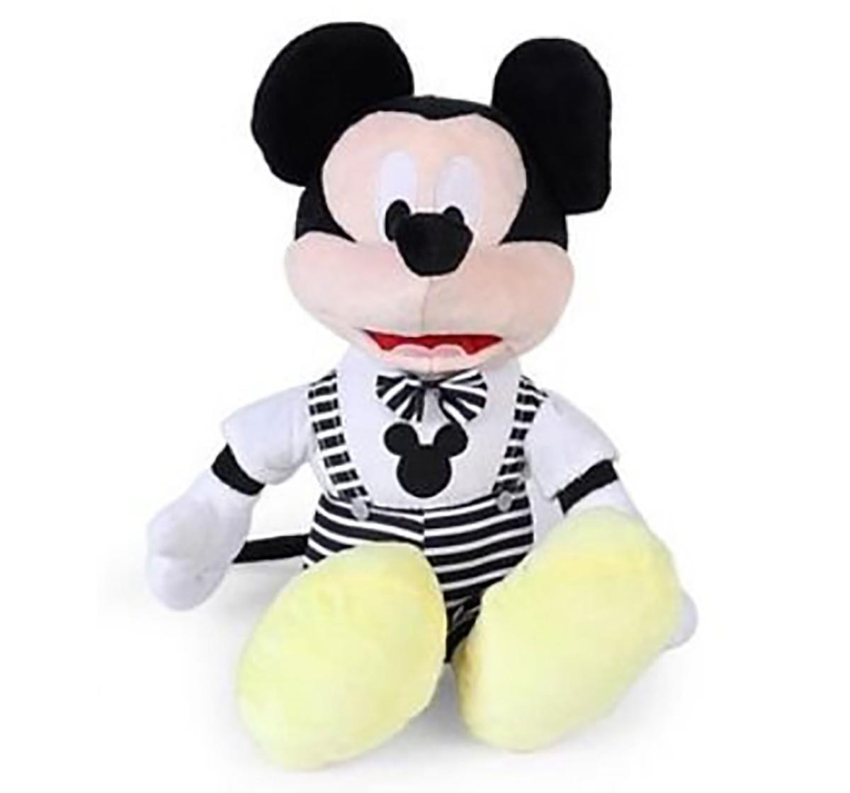 Disney Mickey Monochrome 30 Cm Soft Toy for Kids age 0M+