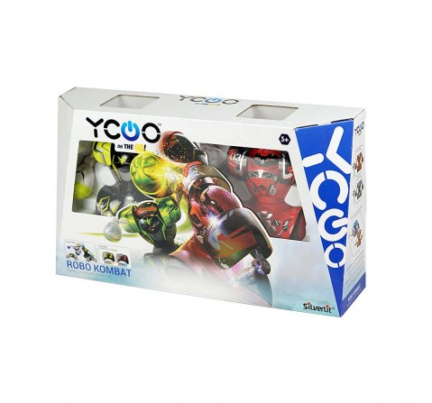 Silverlit Ycoo On The Go! Robo Kombat - Twin Pack Robotics for Kids age 5Y+