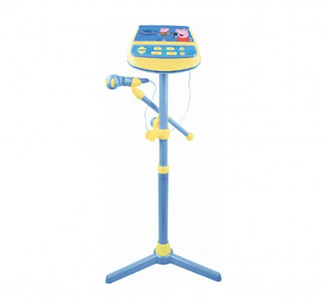 Peppa Pig Musical Microphone Musical Toys for Kids Age 3Y+ (Blue)