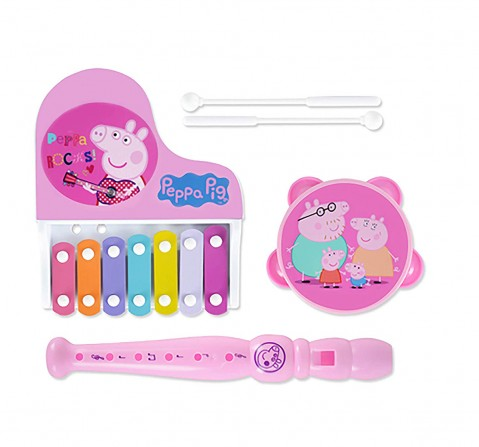 Peppa Pig Musical Set Of 3 Other Instruments for Kids age 12M+