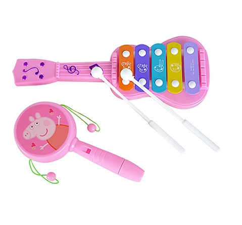 Peppa Pig Musical Set Of 2 Other Instruments for Kids age 12M+