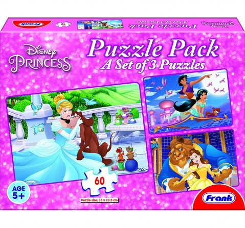 Frank  Disney Princess Puzzle Pack Puzzle For 5 Year Old Kids And Above Puzzles for Kids age 4Y+