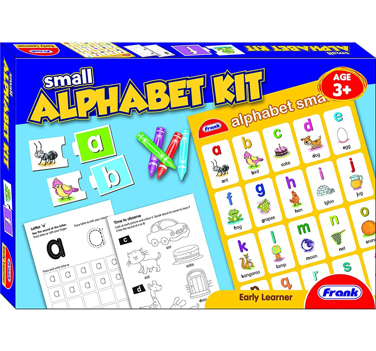 Frank  Small Alphabet Kit  Puzzle for Kids age 3Y+