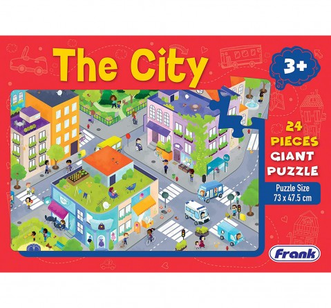 Frank The City Giant Floor Puzzle for Kids age 3Y+