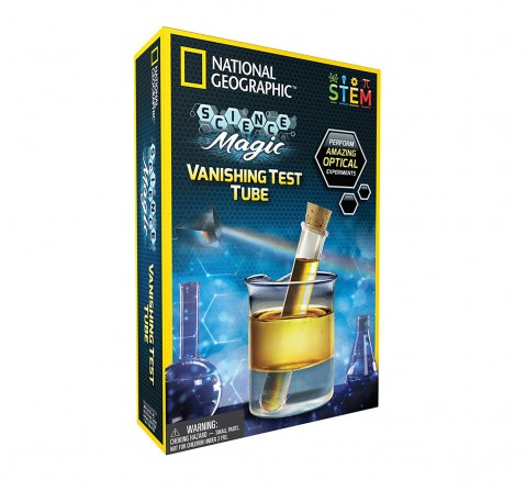 National Geographic Vanishing Test Tube Science Kit for Kids age 8Y+