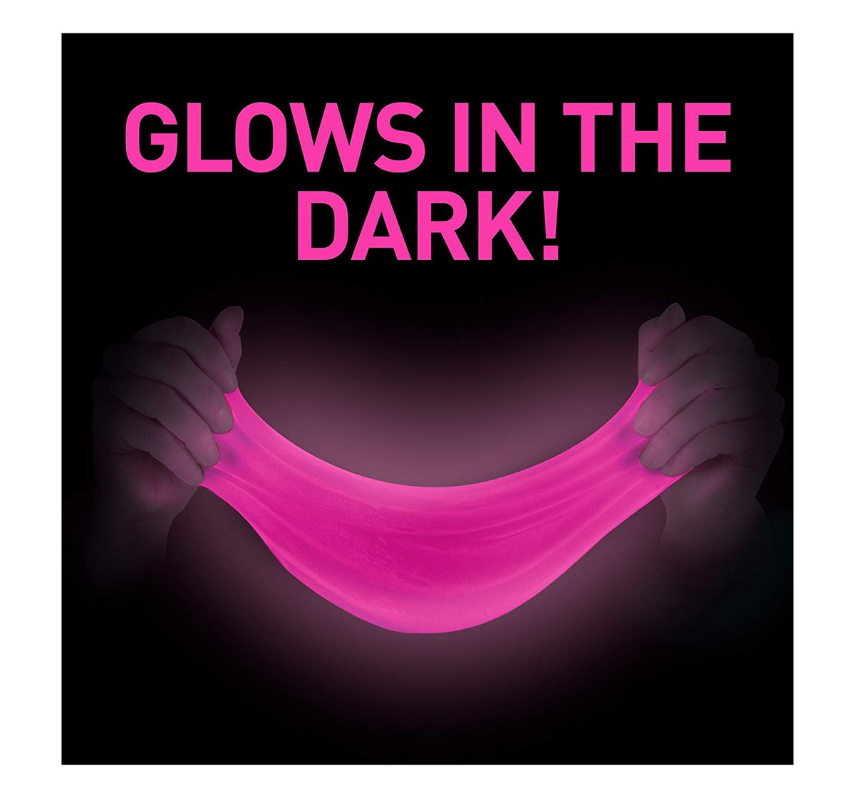 National Geographic DIY Science Lab Make Glowing Slime Science Kits for Kids age 6Y+ (Pink)