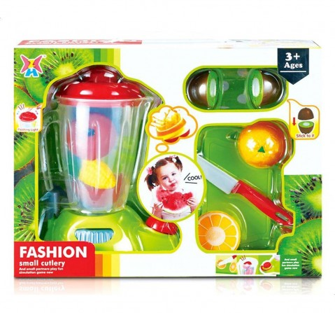 Comdaq Juicer Set With Fruits - Light And Sount Supermarket & Food Playsets for Kids Age 3Y+