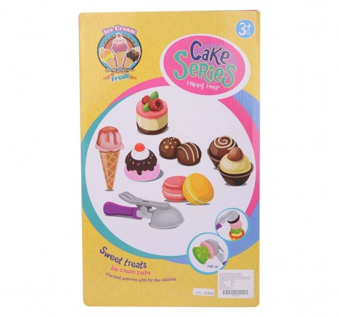 Comdaq Icecream Set with Cake Mix Supermarket & Food Playsets for Kids age 3Y+