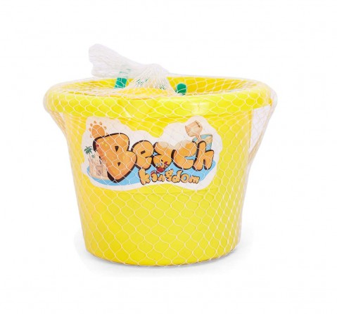Comdaq Large Beach Bucket with Accessories Outdoor Leisure for Kids age 3Y+
