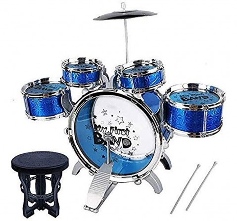 Comdaq N1 Series Jazz Drum with 4 Small Drums and Stool for Kids age 3Y+