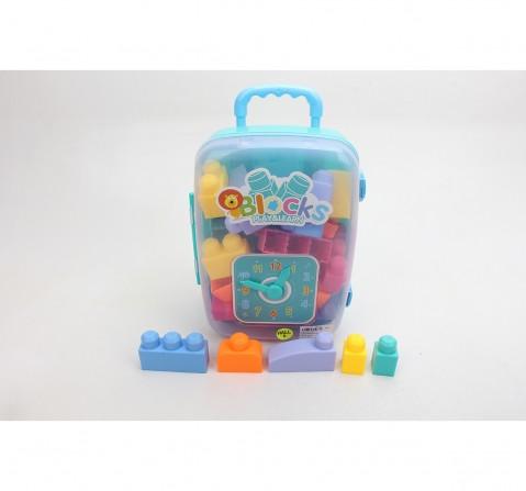 Comdaq 30 Pcs Toddler Blocks for Kids age 3Y+