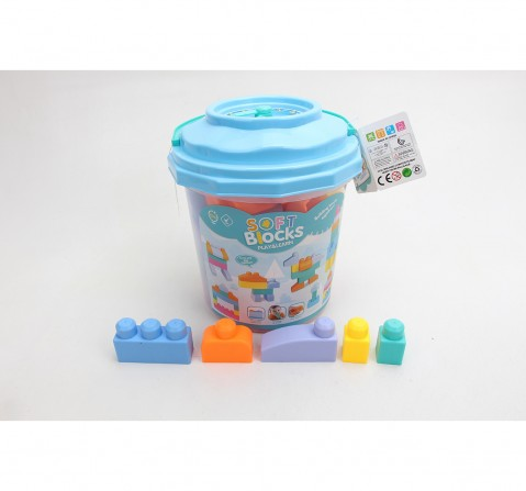 Comdaq 36 Pcs Toddler Blocks for Kids age 3Y+