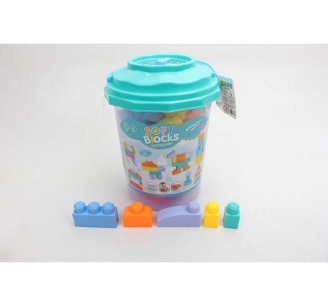 Comdaq 42 Pcs Toddler Blocks for Kids age 3Y+