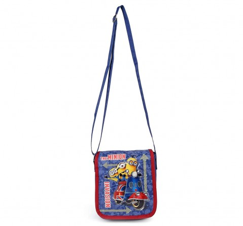 Minion Invasion Blue Sling Bag for Kids age 3Y+