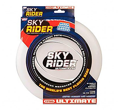 Wicked Sky Rider Ultimate LED Frisbee  Outdoor Sports for Kids age 3Y+ (White)