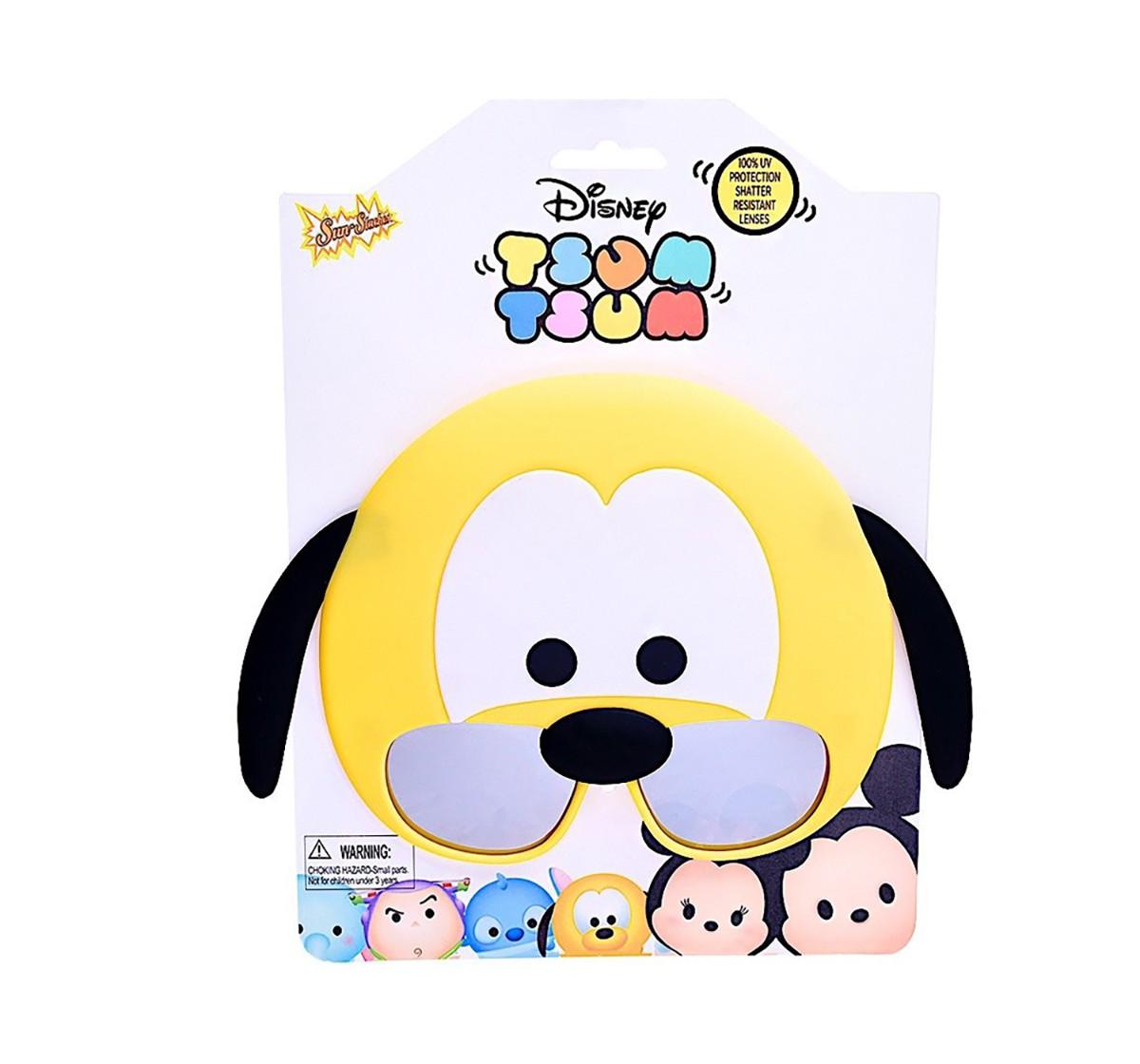 Disney Sun-Staches Costume Sunglasses Tsum Tsum Pluto Party Favors Uv400 Novelty for Kids age 12M+
