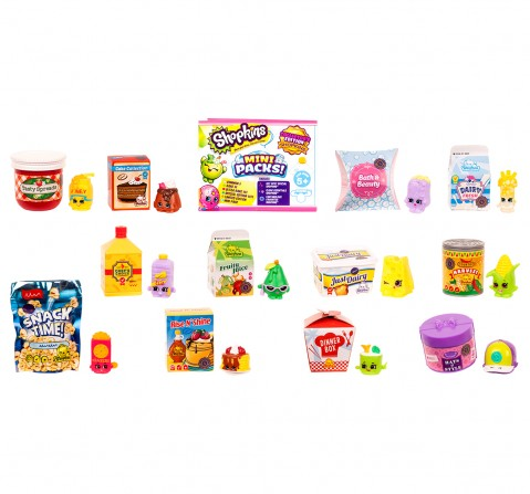 Shopkins Pick And Pack Small Mart Collectible Dolls for Girls age 5Y+