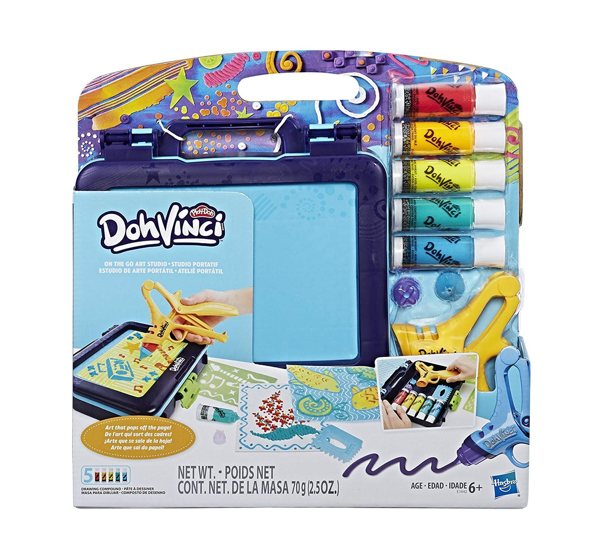 Play-DohVinci on the Go Art Studio  Clay & Dough for Kids age 4Y+