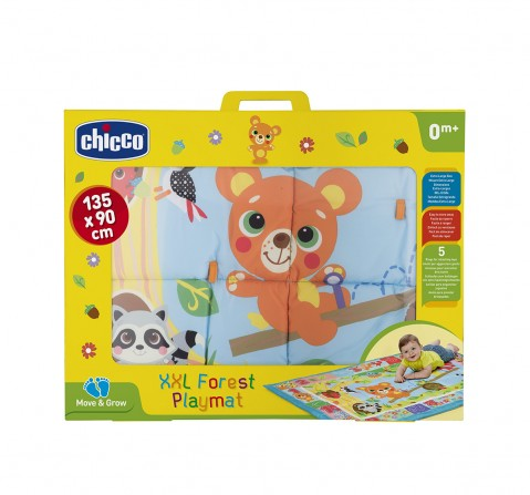 Chicco XXL Forest Move & Grow Playmat for New Born Kids age 0M+