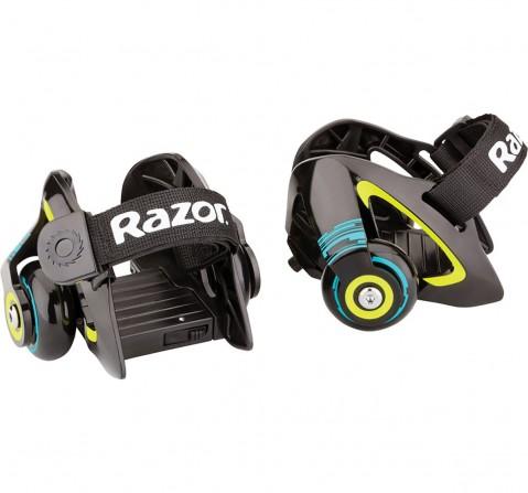 Razor Jetts Heel Wheels - Green Skates and Skateboards for Kids age 8Y+ (Green)