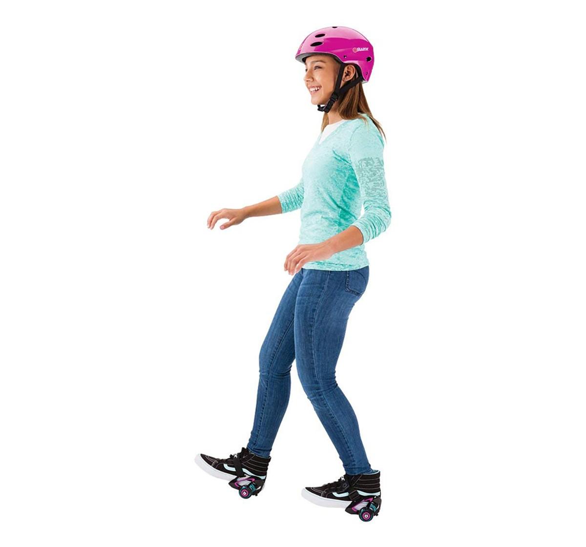 Razor 25056150 Jetts Heel Wheels, One Size (Purple) Skates and Skateboards for Kids age 8Y+ (Purple)