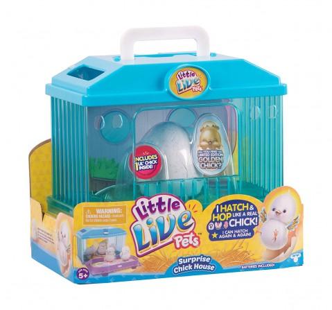 Little Live Pets Season 1 Surprise Chick House Animal Figures for Kids age 3Y+