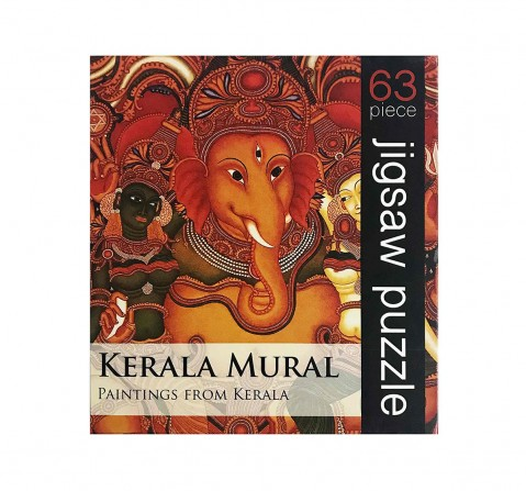 Frogg Kerala Mural Puzzle 63Pc Puzzles for Kids age 7Y+ (Red)