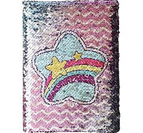 Mirada Heart Reversible Sequin Notebook Study & Desk Accessories for Girls age 3Y+