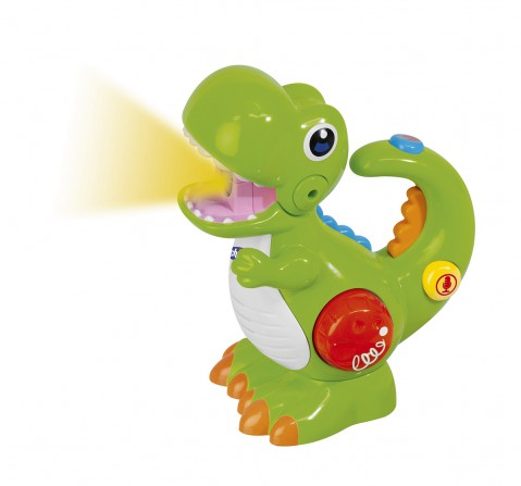 Chicco Toy Dino with Sound Effects & Flash Light for Kids age 2Y+