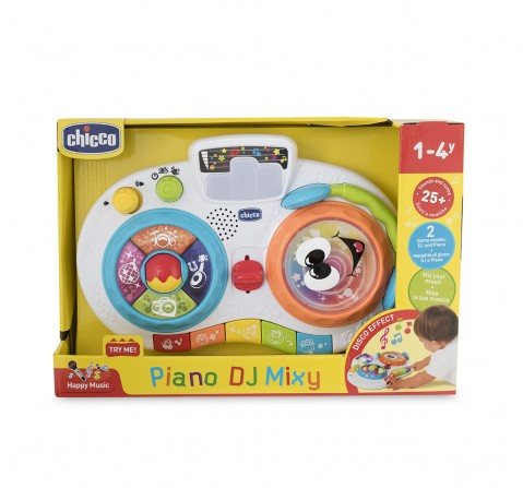 Chicco Piano DJ Mixy Musical Toy with Light for Kids age 12M+