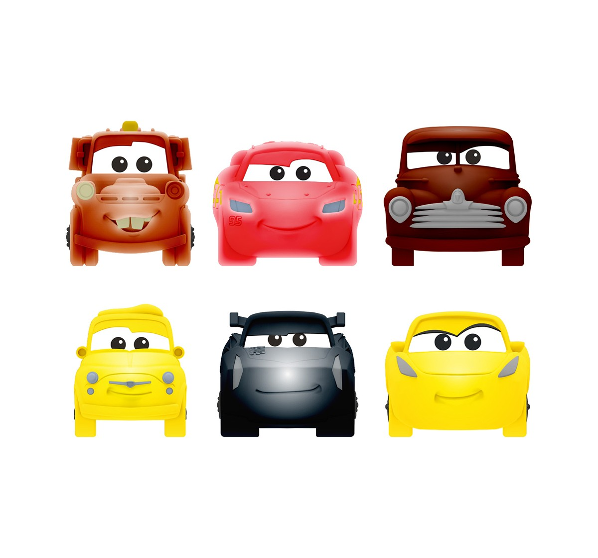 Mash'Ems Squishy Cars3 S2 Toy Figures for Kids age 4Y+