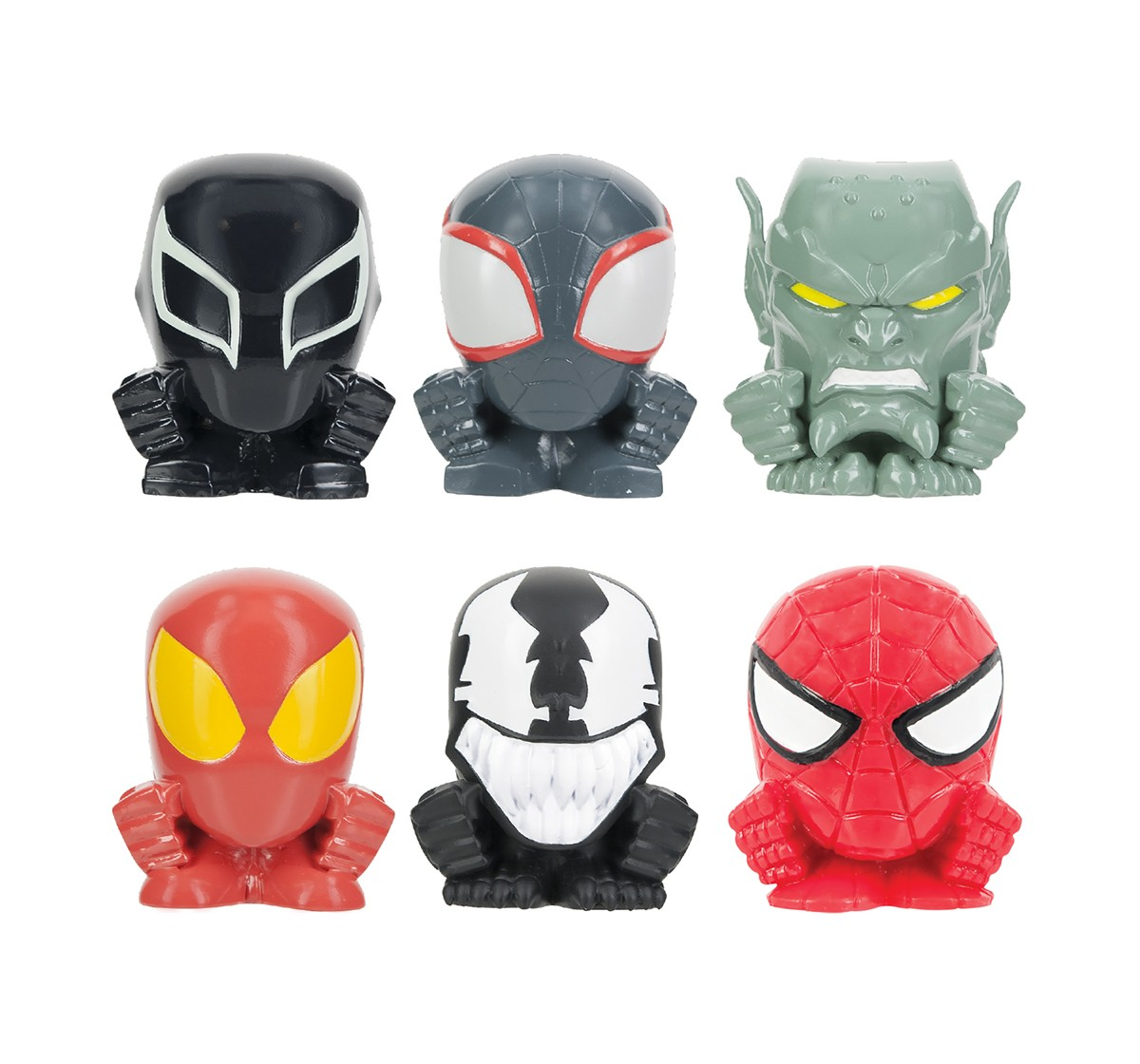 Mash'Ems Squishy Spiderman Sinister 6 S1 Toy Figures for Kids age 4Y+