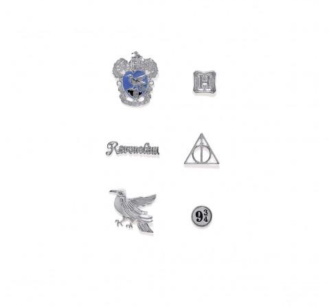 Efg Harry Potter Ravenclaw Pin Set for Kids age 7Y+ (Silver)