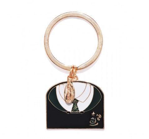 Efg Harry Potter Slytherin Coat Keychain for Kids age 7Y+ (Green)