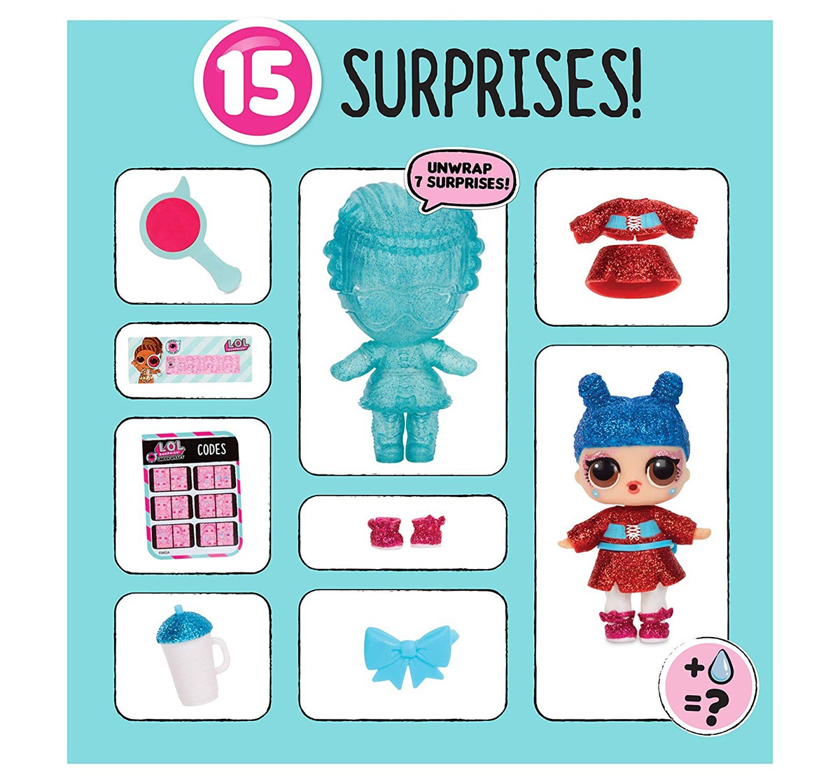 L.O.L. Surprise Under Wraps Doll Series Eye Spy 1A Collectible Dolls for Girls age 5Y+