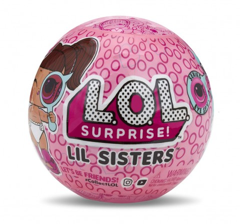 L.O.L. Surprise! Lil Sisters Ball Eye Spy Series Collectible Dolls for Kids age 3Y+