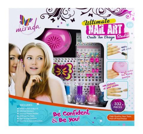 Mirada Ultimate Nail Studio DIY Art & Craft Kits for Kids age 3Y+
