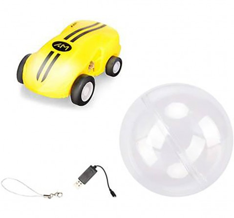 Sirius Toys Rapid Monster Car Vehicles for Kids age 6Y+ (Yellow)