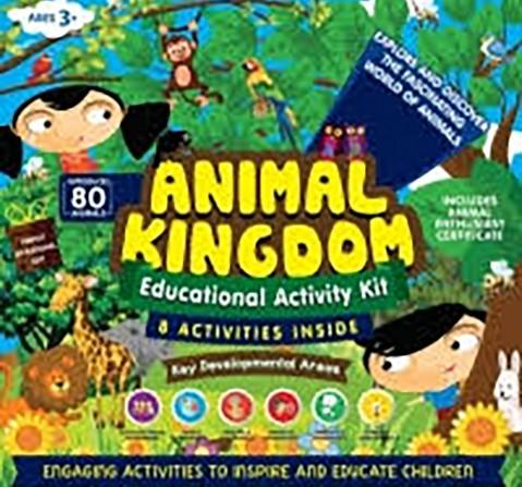 Geniusbox Animal Kingdom - 7 Activities Inside Science Kits for Kids age 5Y+