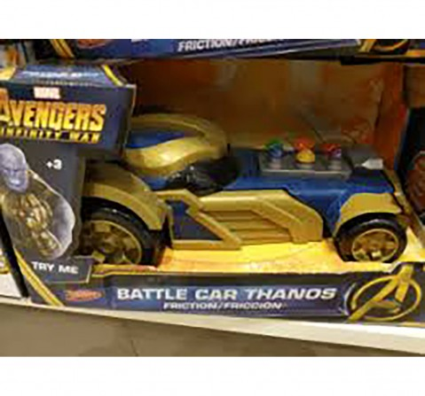 Marvel Avengers Battle Car Thanos-Friction Car Vehicles for Kids age 3Y+