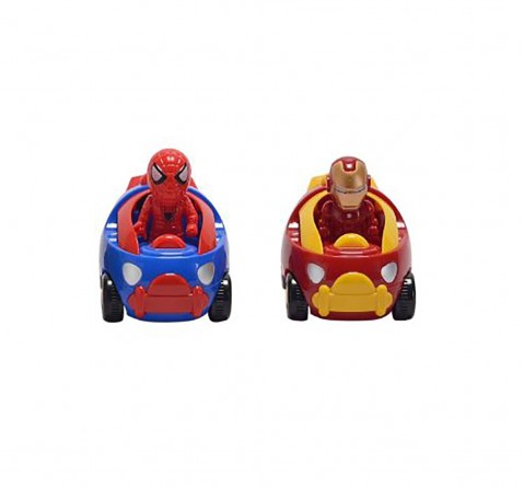 Marvel Avengers Iron Man Stork Truck-Red Vehicles for Kids age 3Y+ (Red)